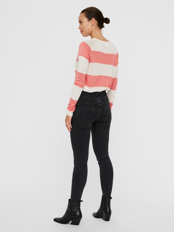Lina Stripe Sweater COR-4