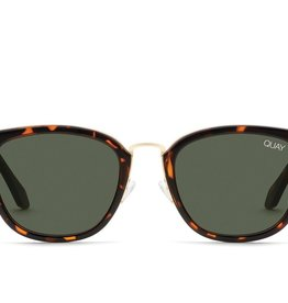 Quay Run Around Sunnies TORT/GRN