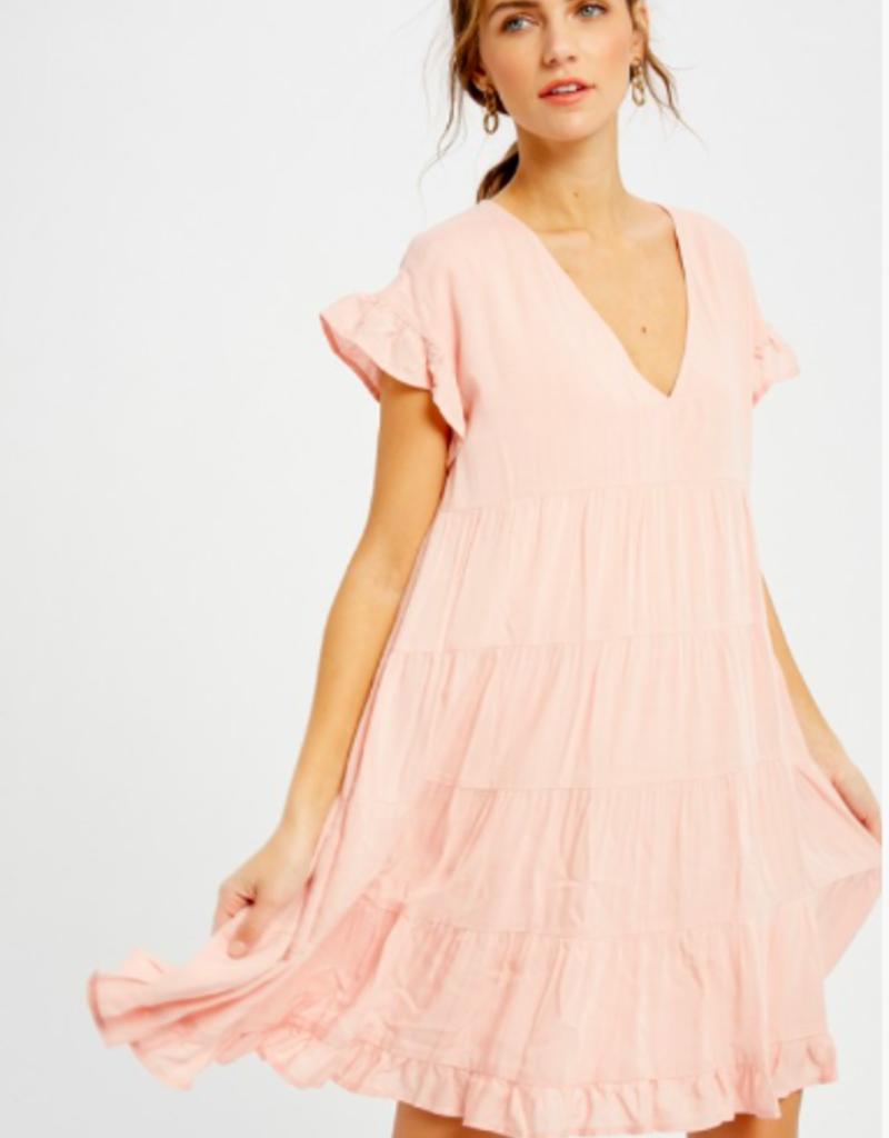Wishlist Tiered Mini Dress