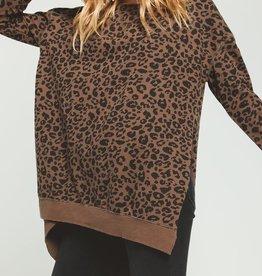 Z Supply Leopard Weekender BRN