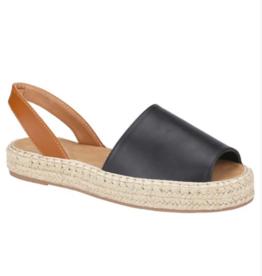 LA Shoes Remy Espadrille Sandal BLK