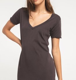 Z Supply Organic Cotton Tee Dress GRAPH