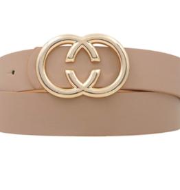 Girly Reverse C Ring Belt TAU