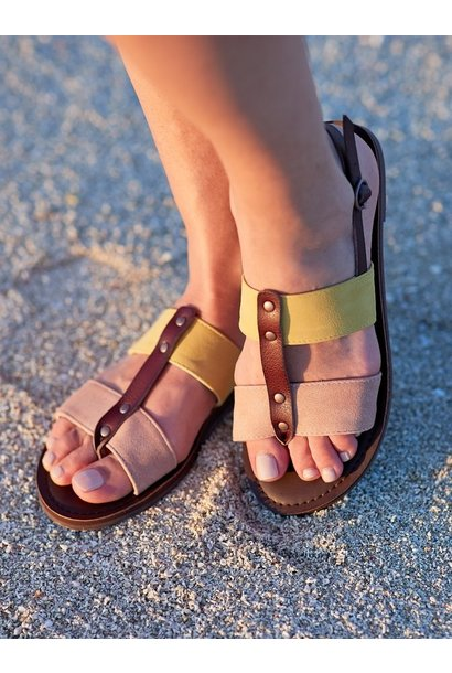 Chrishelle Sandal PCH/YEL