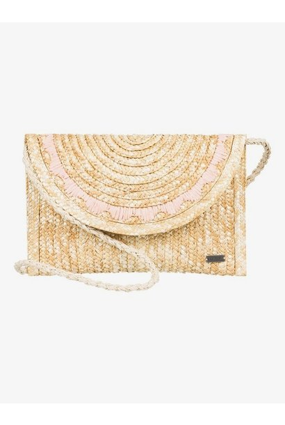Salty But Sweet Straw Shoulder Bag