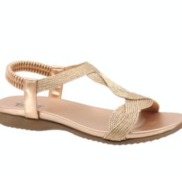 Taxi Luna Braid Sandal ROSE