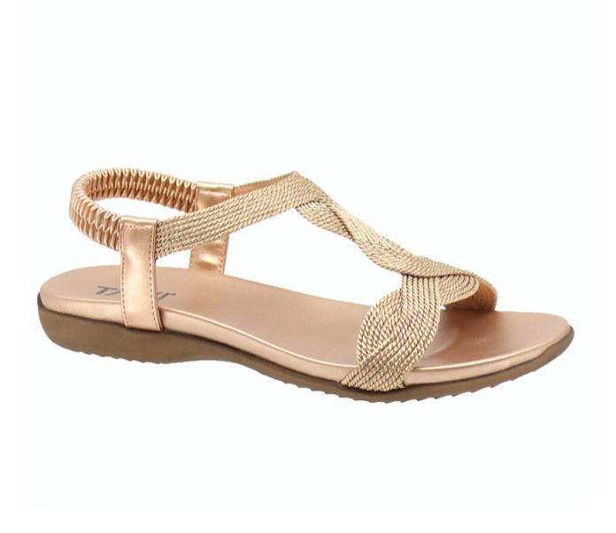 Luna Braid Sandal ROSE-1