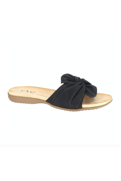 Amalfi Twist Slide BLK