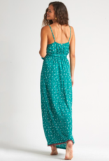 Billabong Soft Seas Midi Dress EMRLD