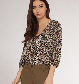 Dex 3/4 Sleeve Blouse LEO