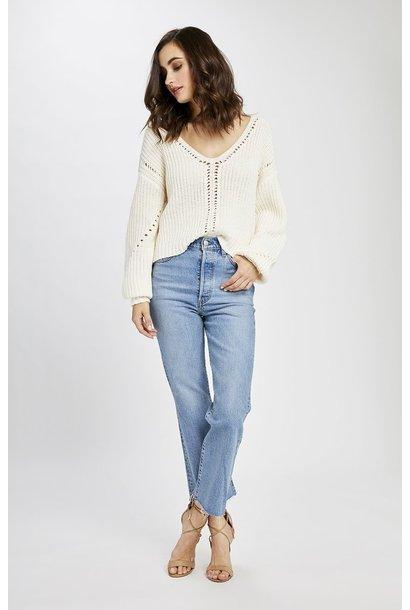 Arizona Knit Sweater IVRY
