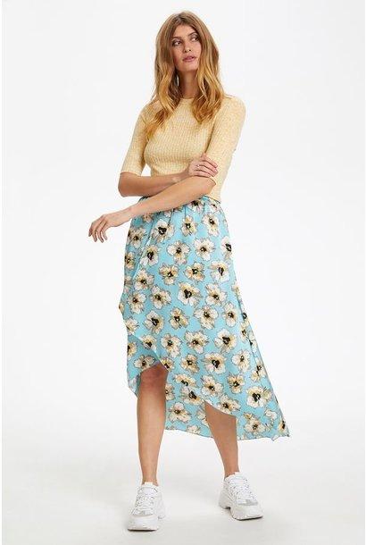 Lisabeth Floral Skirt BLU