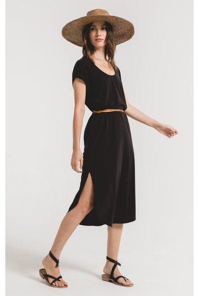 Leira Midi Dress BLK