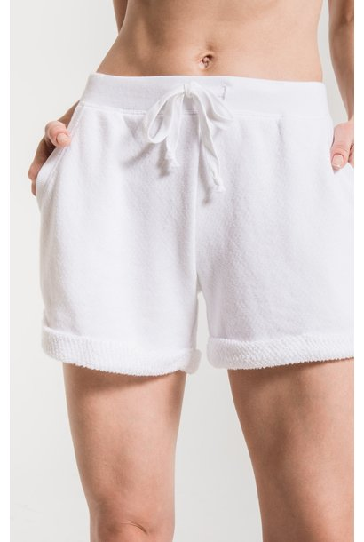 Loose Loop Boyfriend Short WHT
