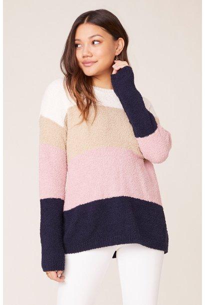 Warm & Fuzzy Stripe Sweater MAU