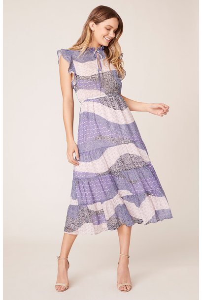 All Mixed Up. Maxi Dress LAV