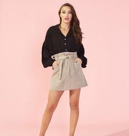 Luella Elastic Waist Skirt SAGE
