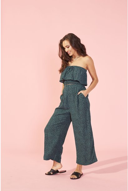 Eyes Wide Culotte GRN