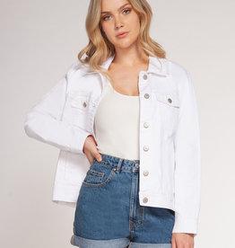 Dex Denim Jacket WHT