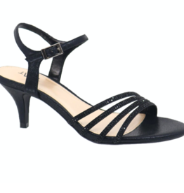 Taxi Emily Strapy Heel BLK