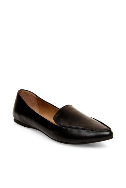 Feather Loafer BLK