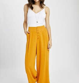 Gentle Fawn Caeser Linen Pant DAYLILY