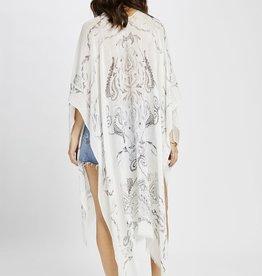 Gentle Fawn Zodiac Paisley Kimono
