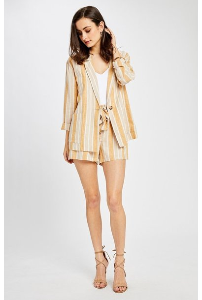 Isla Stripe Blazer MUST