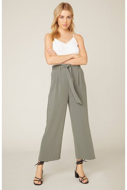 Go With the Flow Pant GRN
