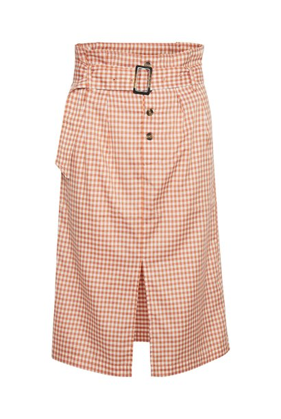 Emory Check Skirt MAR