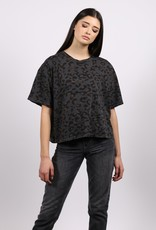 Brunette The Label Vintage Boxy Tee LEO