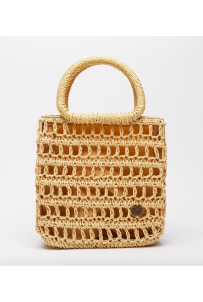 x Sincerely Jules So Clutch Wicker Bag