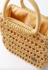 Billabong x Sincerely Jules So Clutch Wicker Bag