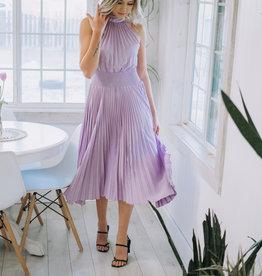 Do + Be Smock/Pleat Dress LAV