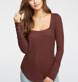 Chaser Thermal Snap Cuff Top PLM