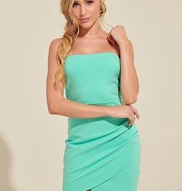Blue Blush Strapless Bodycon Dress MINT