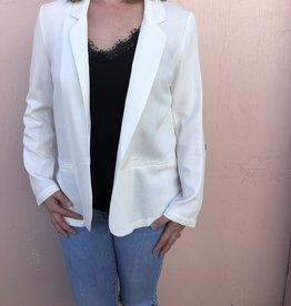 Vero Moda Helen Open Front 3/4 Sleeve Blazer