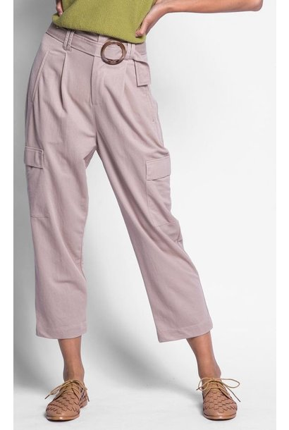 Sophie Belted Cargo Pant Tan