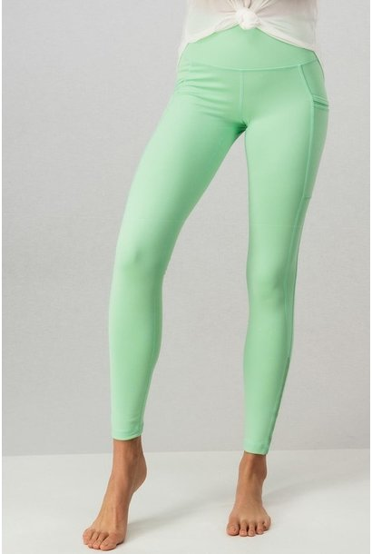 Mesh Trim Legging MINT