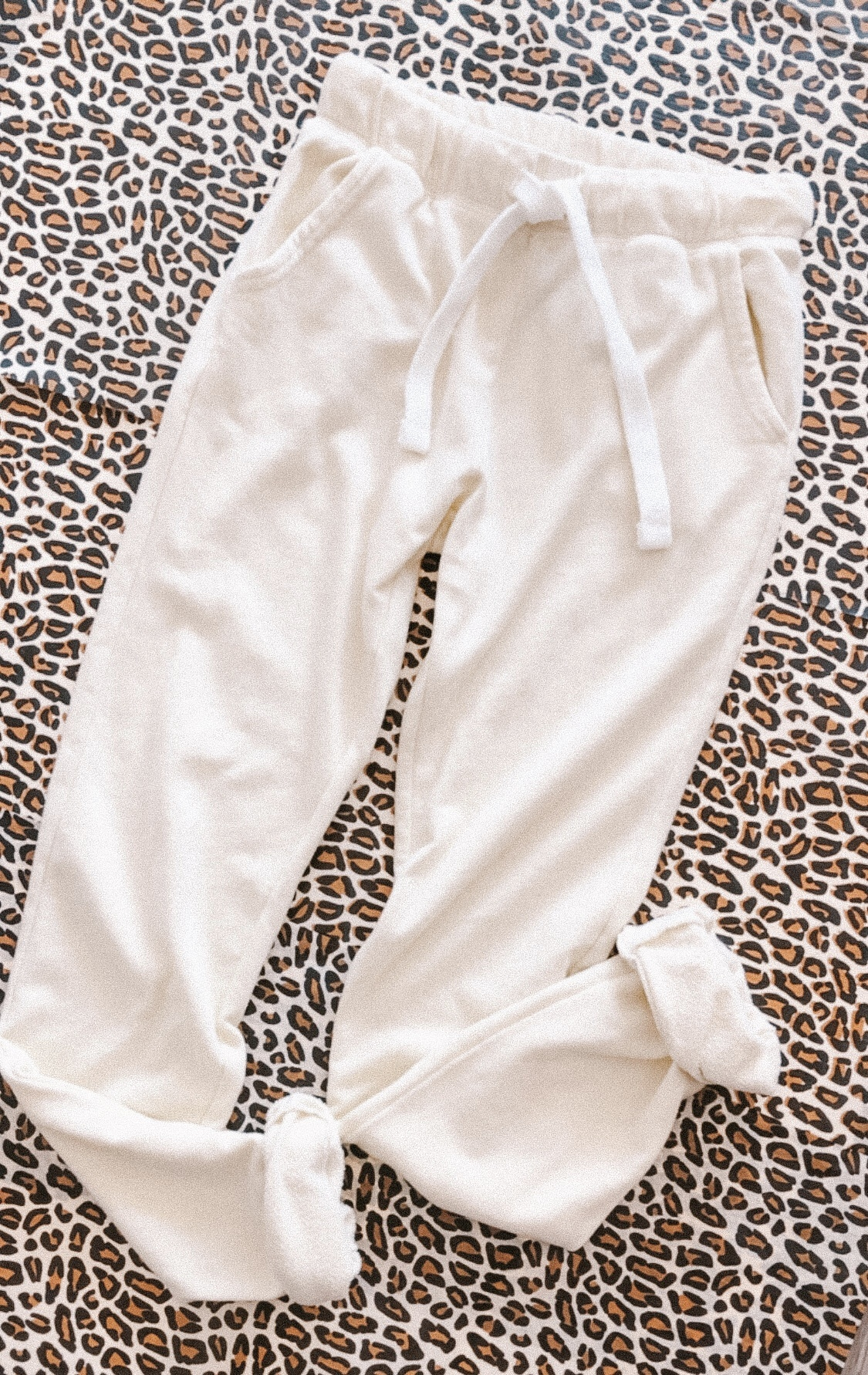 French Terry Jogger YEL-1