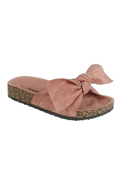 Berk Bow Sandal BLUSH