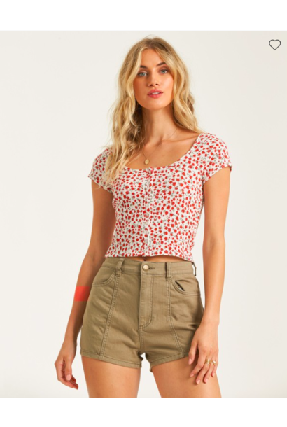 Bayside Floral Top MUL