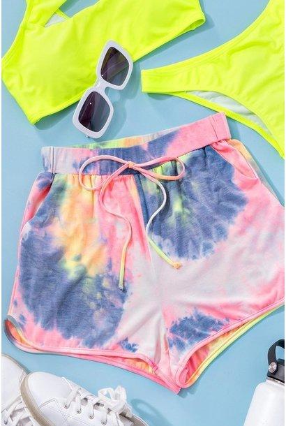 Tie Dye Shorts MUL