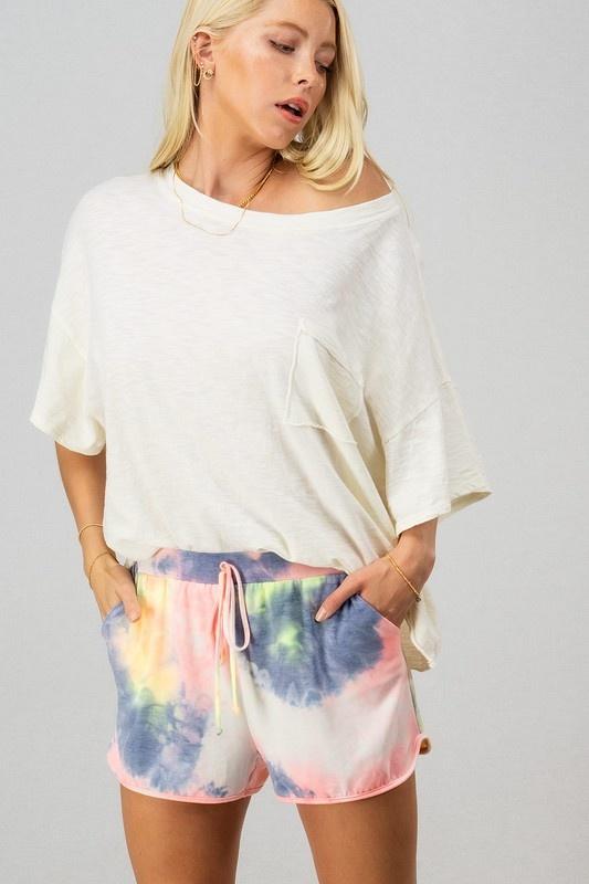 Tie Dye Shorts MUL-2