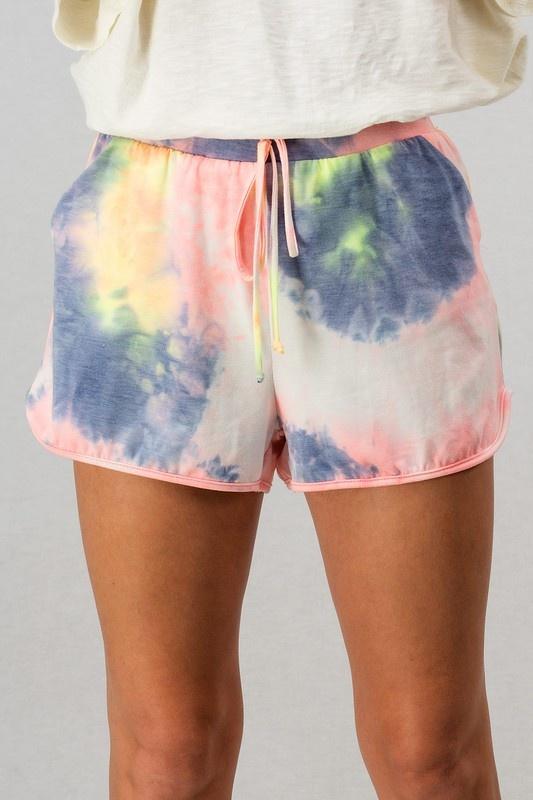 Tie Dye Shorts MUL-3