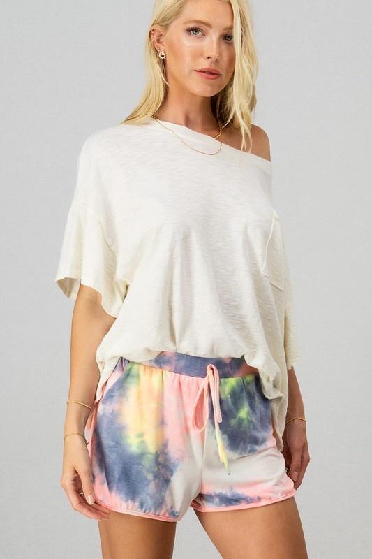 Tie Dye Shorts MUL-4