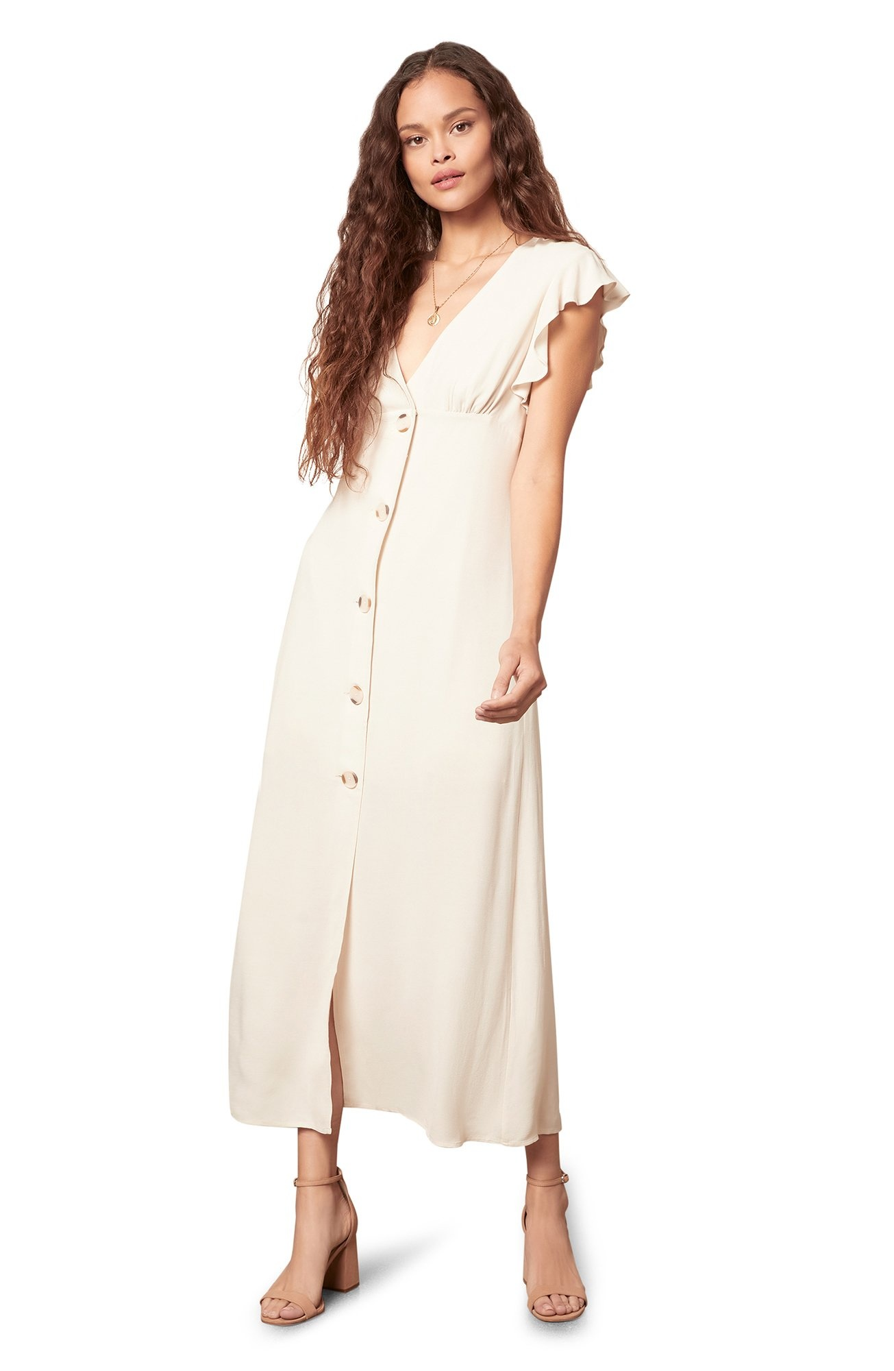 That's Amore Maxi Dress CRM-1