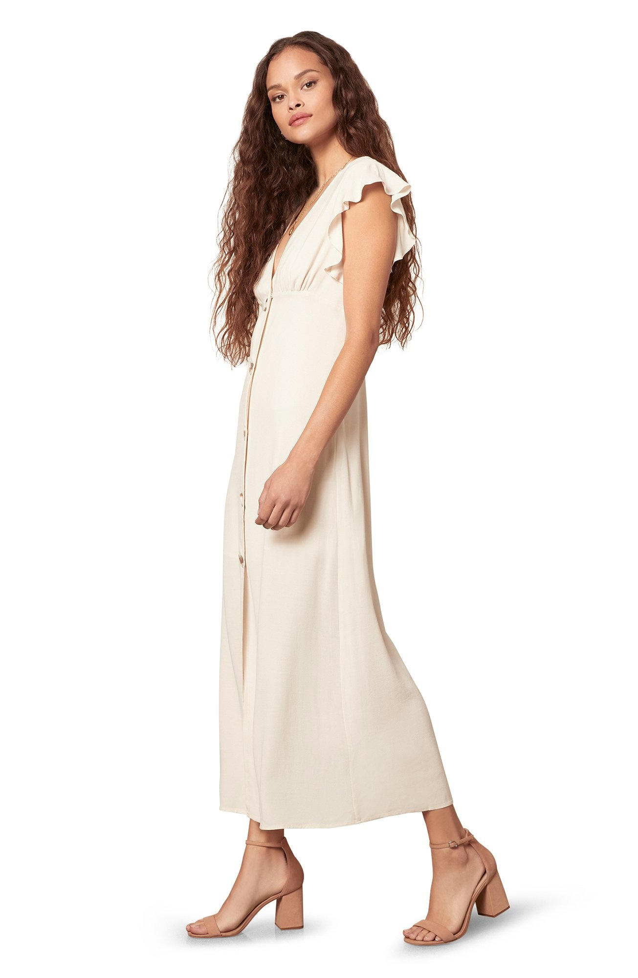 That's Amore Maxi Dress CRM-2