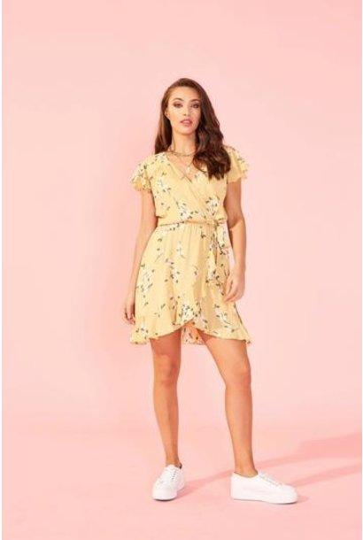 Maggie Mini Dress YEL