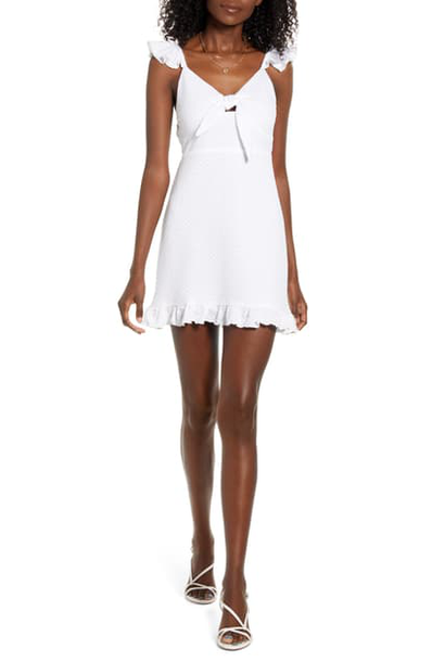 Laurel Mini Dress WHT